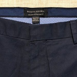Banana Republic Non-Iron Tailored Slim Fit Stretch